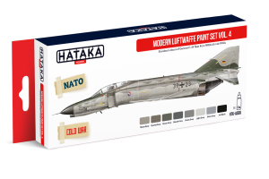 HATAKA AS66 Modern Luftwaffe Vol. 4 [PAINT SET]