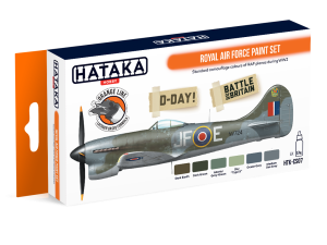 HATAKA CS07 Royal Air Force [PAINT SET]