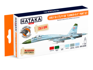 "HATAKA CS104 Early Su-27S/P/UB ""Flanker-B/C"" [PAINT SET]"