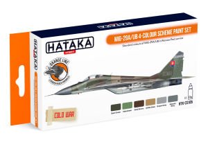 HATAKA CS105 MiG-29A/UB 4-colour scheme [PAINT SET]