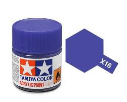 Tamiya 81016 X-16 Purple 23ml