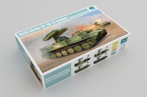 TRUMPETER 05554 1:35 9K35 Strela-10 SA-13 Gopher Surface-to-Air Missile System