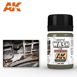 AK 093 ENAMEL WASH - WASH FOR INTERIORS 35ml