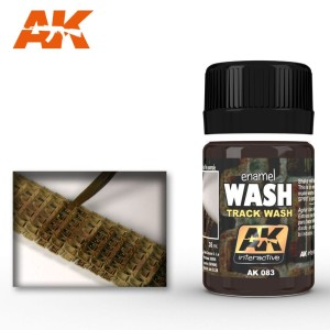 AK 083 ENAMEL WASH - TRACK WASH 35ml