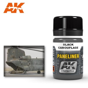 AK 2075 PANELINER FOR BLACK CAMOUFLAGE 35ml