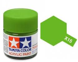 Tamiya 81015 X-15 Light Green 23ml