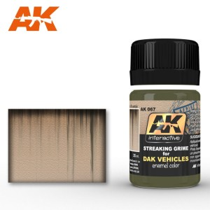 AK 067 STREAKING GRIME FOR DAK VEHICLES 35ml