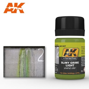AK 027 SLIMY GRIME LIGHT (efekt mchu i śluzu) 35ml