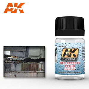 AK 079 WET EFFECTS FLUID (mokry efekt) 35ml