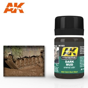 AK 023 DARK MUD EFFECT (efekt ciemnego błota) 35ml