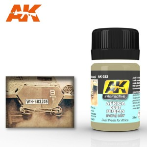 AK 022 AFRICA DUST EFFECTS (efekt kurzu) 35ml