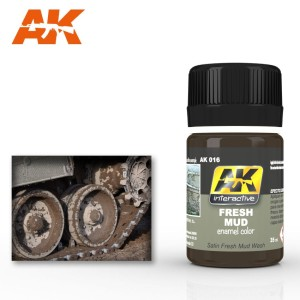 AK 016 FRESH MUD (efekt świeżego błota) 35ml