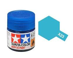 Tamiya 81023 X-23 Clear Blue 23ml