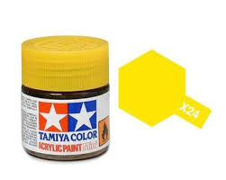 Tamiya 81024 X-24 Clear Yellow 23ml