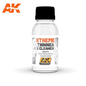 AK 470 XTREME CLEANER & THINNER 100ml