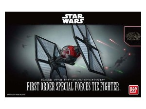 BANDAI 03219 1:72 First Order Special Force Tie Fighter (Star Wars: The Force Awakens)