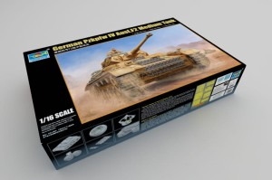 TRUMPETER 00919 1:16 German Pzkpfw IV Ausf.F2 Medium Tank