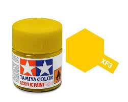 Tamiya 81303 XF-3 Flat Yellow 23ml