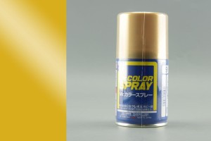 GUNZE S009 GOLD - (METALLIC) SPRAY 100ml