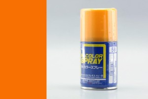 GUNZE S058 ORANGE YELLOW - (SEMI-GLOSS) SPRAY 100ml