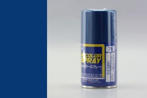 GUNZE S076 METALLIC BLUE - (METALLIC) SPRAY 100ml