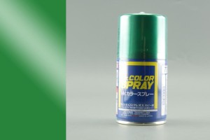 GUNZE S077 METALLIC GREEN - (METALLIC) SPRAY 100ml