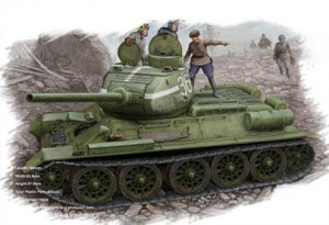 HOBBY BOSS 84807 1:48 T-34/85 (Model 1944 flattened turret) Tank