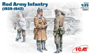 ICM 35051 1:35 RED ARMY INFANTRY