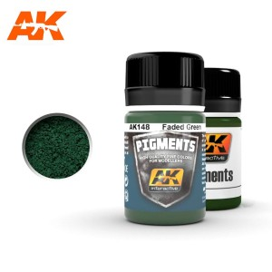 AK 148 PIGMENT - FADED GREEN 35ml