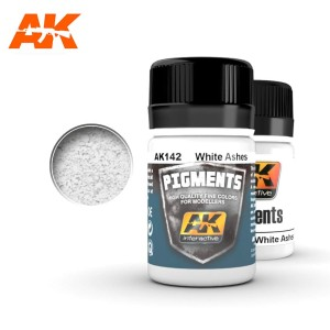 AK 142 PIGMENT - WHITE ASHES 35ml