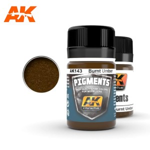 AK 143 PIGMENT - BURNT UMBER 35ml