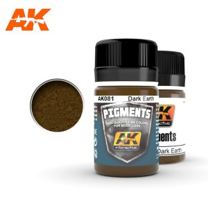 AK 081 PIGMENT - DARK EARTH 35ml