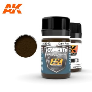 AK 2042 PIGMENT - DARK RUST 35ml