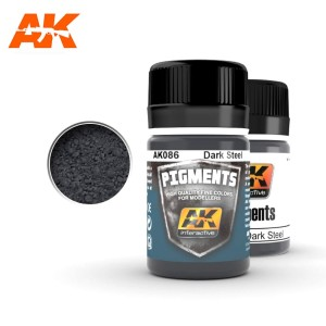 AK 086 PIGMENT - DARK STEEL 35ml