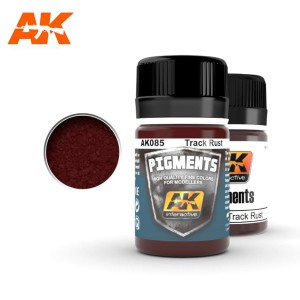 AK 085 PIGMENT - TRACK RUST 35ml