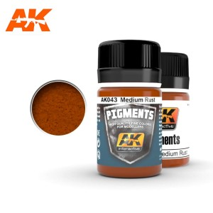 AK 043 PIGMENT - MEDIUM RUST 35ml
