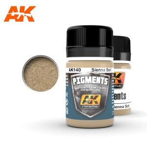 AK 140 PIGMENT - SIENNA SOIL 35ml