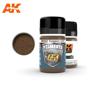 AK 042 PIGMENT - EUROPE EARTH 35ml