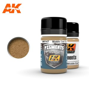 AK 147 PIGMENT - MIDDLE EAST SOIL 35ml