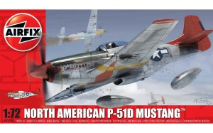 AIRFIX 01004 1:72 North American P-51D Mustang