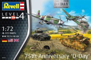 REVELL 03352 1:72 75TH ANNIVERSARY D-DAY