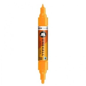 MOLOTOW ONE4ALL TWIN 218 NEON ORANGE FLUO (1,5 mm + 4 mm)