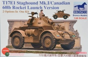 BRONCO 48003 1:48 T17E1 STAGHOUND