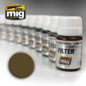 AMMO 1510 FILTER TAN FOR 3 TONE CAMO 35ml