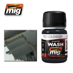 AMMO 1006 WASH BLUE FOR PANZER GREY 35ml