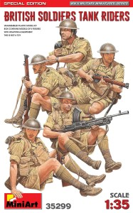 MINIART 35299 1:35 British Soldiers Tank Riders [LIMITED EDITION]