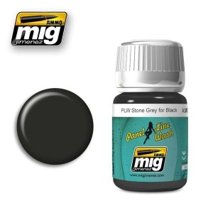 AMMO 1615 PANEL LINE STONE GREY FOR BLACK 35ml