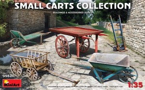 MINIART 35621 1:35 Small Carts Collection (wózki)