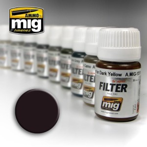 AMMO 1506 FILTER BROWN FOR DARK GREEN 35ml