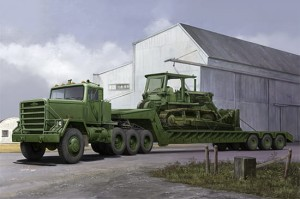 TRUMPETER 01078 1:35 M920 Tractor tow M870A1 Semi Trailer